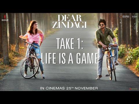 Dear Zindagi Take 1: Life Is A Game | Teaser | Alia Bhatt, Shah Rukh Khan | In Cinemas Now