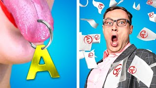 TEEN PRINCIPAL AT SCHOOL! Funny Situations & Back to School Pranks by Crafty Panda School