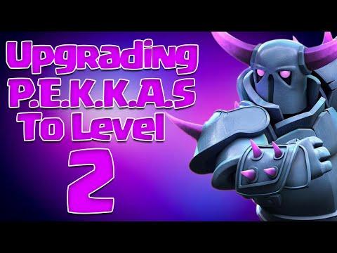 Level 2 P.E.K.K.A Upgrade - Clash of Clans