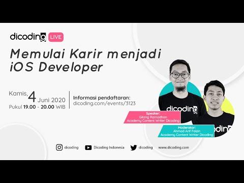 Memulai Karir menjadi iOS Developer