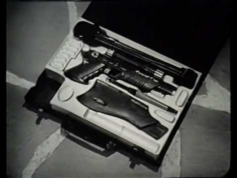 Vintage Secret Sam toy gun TV COMMERCIAL