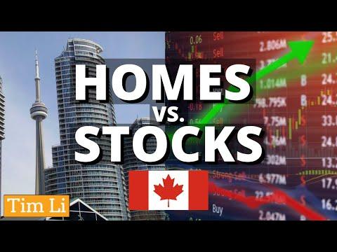 🏠 CANADIAN HOMES Vs. 📈 STOCKS.