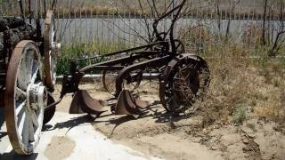 Antique vehicles and farm equipment for sale