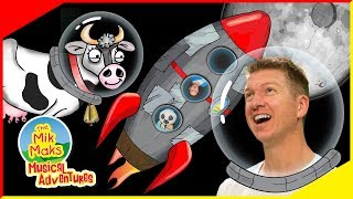 Rocket ship | Space Adventure Song for Kids with Actions | The Mik Maks