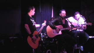 "F-Units ""Derailed"" Live (Acoustic Performance) in the Map Room @ The Bowery Electric, NYC."