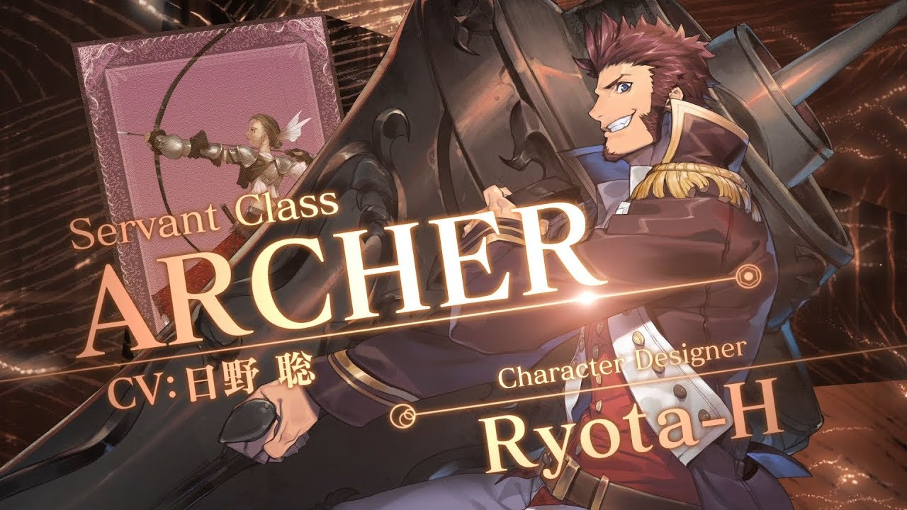 Image result for fgo tvcm archer illustration