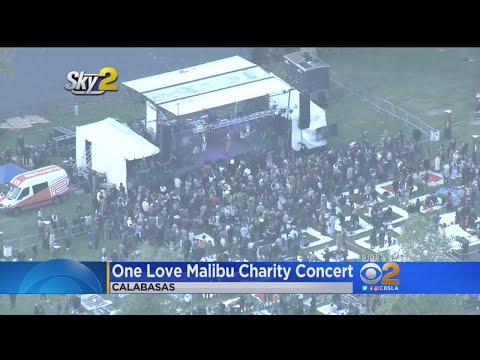 One Love Malibu Charity Concert Helps Fire Victims Mp3