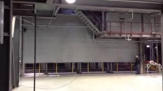 видео Производство противопожарных штор