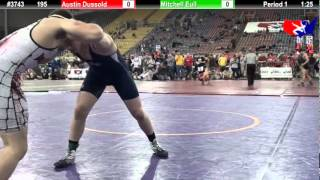 FSN 195: Austin Dussold (Farmington Mat Rat) vs. Mitchell Eull (Hi-Flyers)