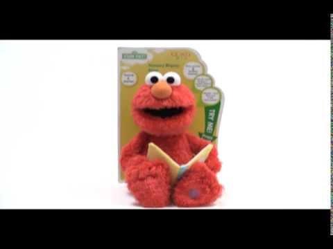 Gund Nursery Rhyme Elmo