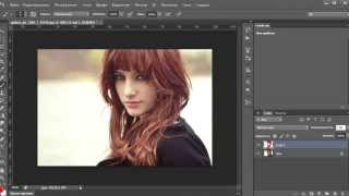 Как изменить цвет волос в Photoshop CS6?!
