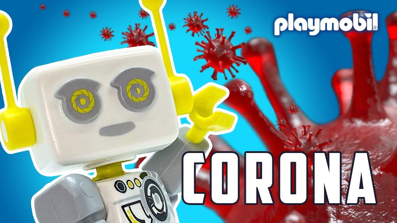 ROBert explains the corona virus to children | PLAYMOBIL
