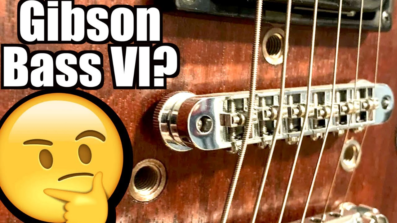 Can You Turn a Bass into a Guitar? | D.I.Y. Gibson Bass VI Conversion | WYRON