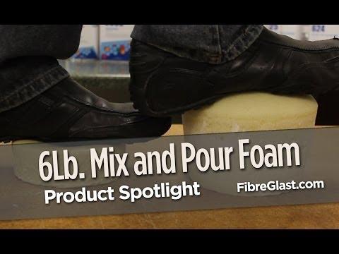 6 Lb. Mix and Pour Foam