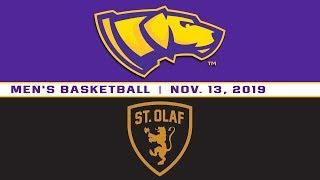 UW-Stevens Point Men's Basketball vs. St. Olaf