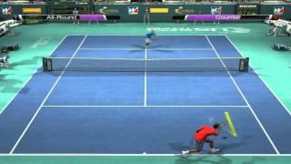 Virtua Tennis 4 Gameplay 2 Players HD