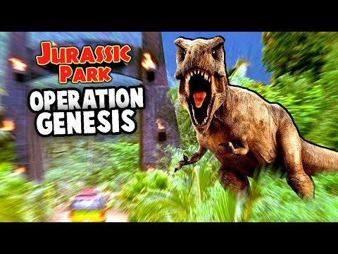 Welcome to JURASSIC PARK Operation Genesis!  DINOSAUR EMPIRE (Jurassic Park Operation Genesis Ep 1)