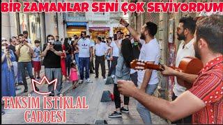 Bir Zamanlar Seni Çok seviyordum.Taksim İstiklal Caddesi.Erdal Tutak & Mehmet Yüksel .HD Resimi