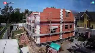 Kamnik - Wienerberger e4 hiša, Construction Time-Lapse