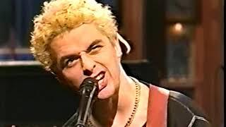 Green day live @ Saturday Night live 03/12/1994 Pro shot