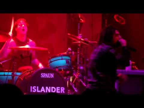 ISLANDER  CRIMINALS (LIVE)  10/12/15 Charlotte North Carolina The Fillmore