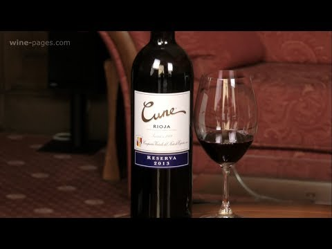 CVNE, Cune Rioja Reserva 2013, wine review