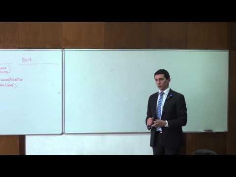 Martin Milev - Private Equity Deal Structures [Entire Talk]