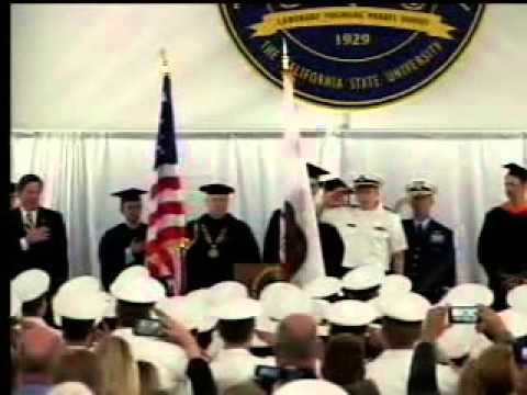 Cal Maritime Commencement 2015