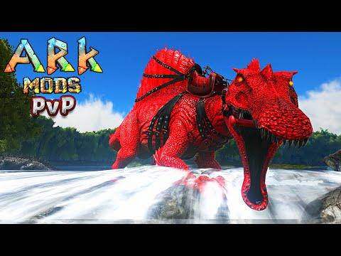 Ark Survival Evolved PVP c MODS 8 - CARNAGE ALPHA SPINO INSANO