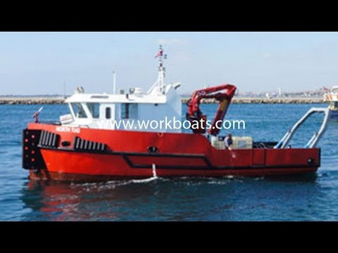 For Sale: Diving Support Vessel with deck crane & A Frame