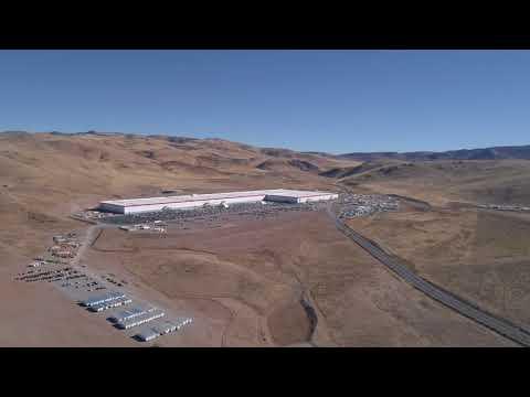Tesla Gigafactory Oct 2017