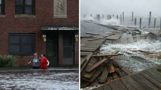 Carolinas rising floodwaters after Hurricane Florence, floods North Carolina, South Carolina