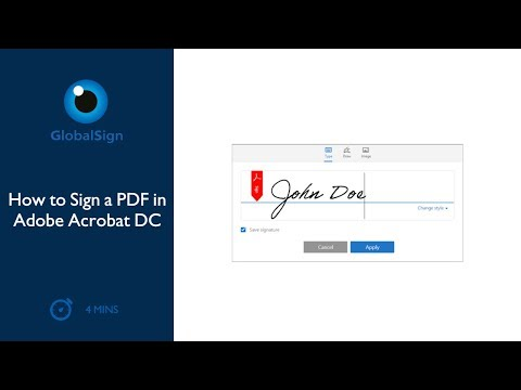 How To Sign A PDF In Adobe Acrobat DC