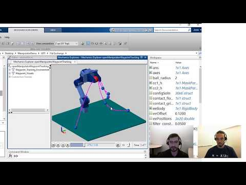 Designing Robot Manipulator Algorithms - MATLAB and Simulink Robotics Arena