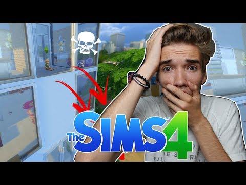DIT IS LEVENSGEVAARLIJK, DOE DIT NIET - The Sims 4 #171
