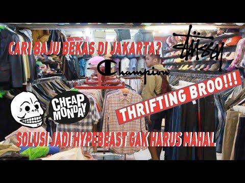 Baju Bekas Murah Di JAKARTA? | Hunting Baju Bekas / THRIFTING #JustHype