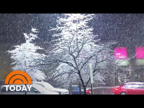 Monster Winter Storm Covers Northeast In Snow | TODAY