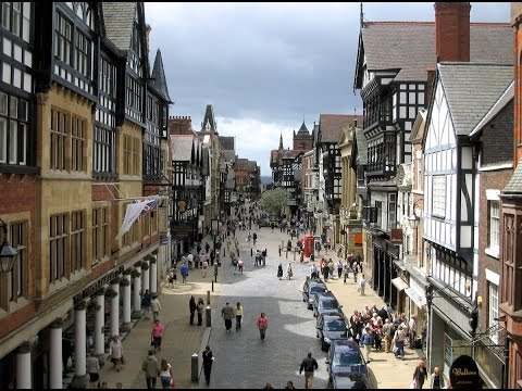 A Walk Through Chester, England