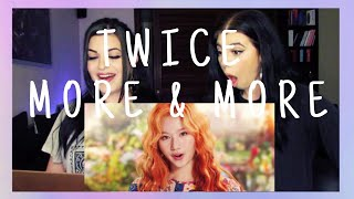 Baixar TWICE - MORE & MORE M/V | REACTION