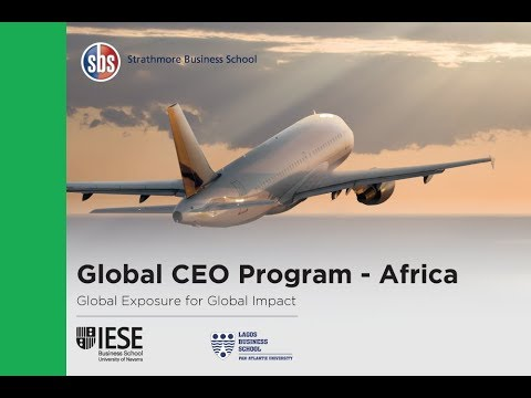 Global Chief Executive Officer Program (Global CEO) Launch