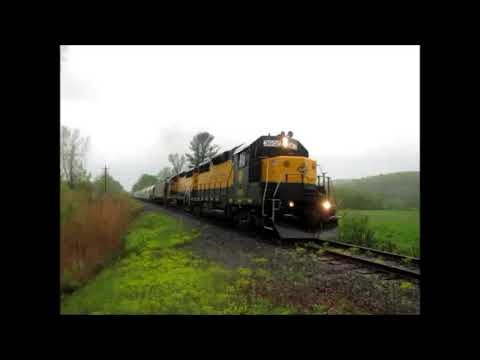 housatonic railroad nx13 chase from canaan ct to lee ma