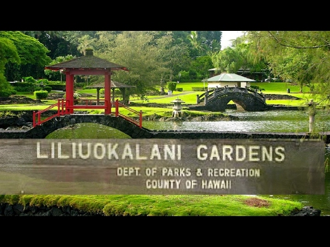 Liliuokalani Gardens adventure in Hilo Hawaii and a little zoo trip