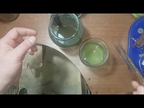 Чернение серебра в домашних условиях