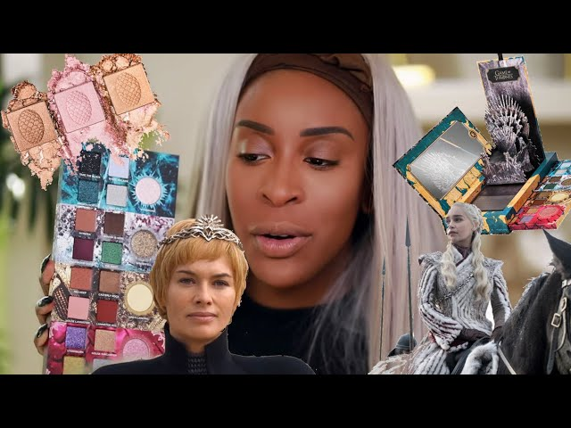GAME OF THRONES Makeup Collection?! But... | Jackie Aina
