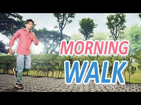 MORNING WALK | Hindi Comedy Video | Pakau TV Channel