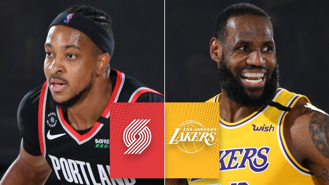 Trail Blazers vs. Lakers - Game Recap - August 29, 2020 - ESPN