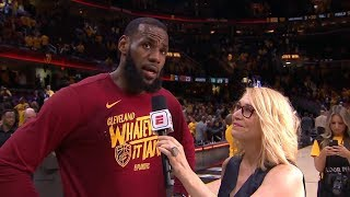LeBron James Postgame Interview - Game 3 | Celtics vs Cavaliers | 2018 NBA East Finals