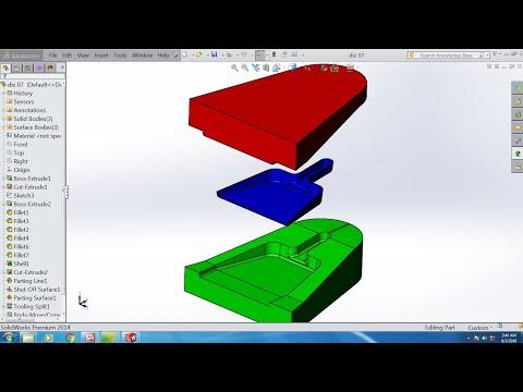 Solidworks tutorial die design