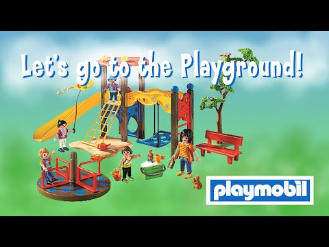 Playmobil City Life Playground Set unboxing and quick build review