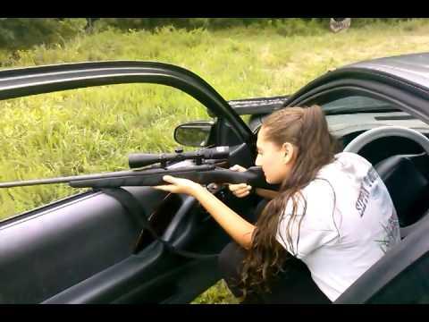 Girl Shooting A 30-06